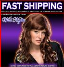 FANCY DRESS WIG ~ HOLLYWOOD MOVIE STARLET WIG AUBURN